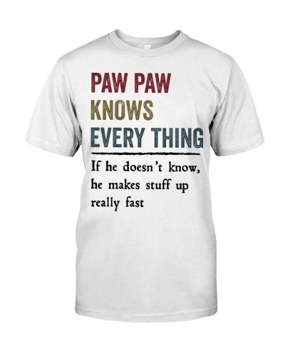 know every thing PAW PAW