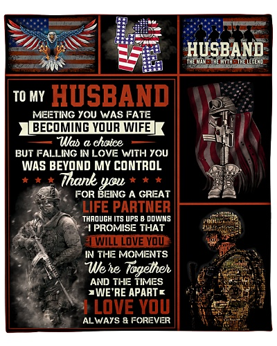 Husband Army Thanks For Being A Great Life Partner