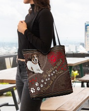 Jack-Russell-Terrier-dog-the-road-to-my-heart All-over Tote aos-all-over-tote-lifestyle-front-04