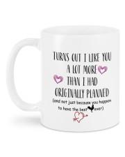 Personalized Turn Out I Like You A Lot More Mug back