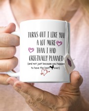 Personalized Turn Out I Like You A Lot More Mug ceramic-mug-lifestyle-68