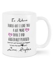 Personalized Turn Out I Like You A Lot More Mug front