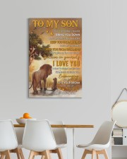 Don't Let Today's Trouble Bring U Down-Dad To Son 20x30 Gallery Wrapped Canvas Prints aos-canvas-pgw-20x30-lifestyle-front-05