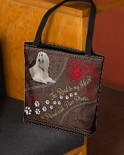Borzoi-dog-the-road-to-my-heart All-over Tote aos-all-over-tote-lifestyle-front-02