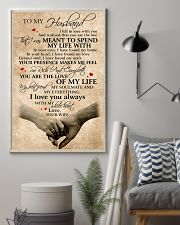 To My Husband You Are The Love Of My Life 11x17 Poster lifestyle-poster-1