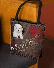 Coton-de-Tulear-dog-the-road-to-my-heart All-over Tote aos-all-over-tote-lifestyle-front-02