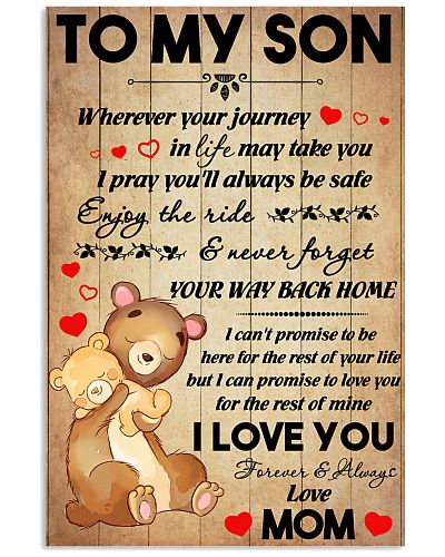 Son Bear Promise To Love You For The Rest Of Mine