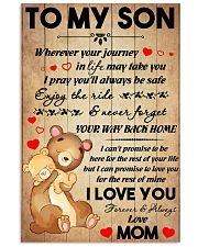 Son Bear Promise To Love You For The Rest Of Mine 11x17 Poster front