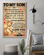 Son Bear Promise To Love You For The Rest Of Mine 11x17 Poster lifestyle-poster-1