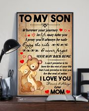 Son Bear Promise To Love You For The Rest Of Mine 11x17 Poster lifestyle-poster-2
