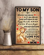 Son Bear Promise To Love You For The Rest Of Mine 11x17 Poster lifestyle-poster-3
