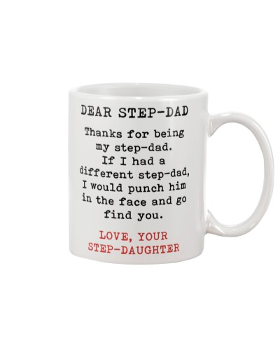 Thanks For Being My Step-Dad