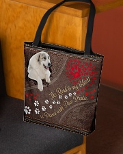 Great-Pyrenees-dog-the-road-to-my-heart All-over Tote aos-all-over-tote-lifestyle-front-02
