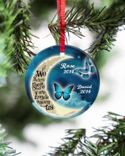 Personalized Believe There Are Angles To Daughter Circle ornament - single (porcelain) aos-circle-ornament-single-porcelain-lifestyles-07