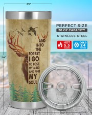 And Into The Forest I Go To Lose My Mind 20oz Tumbler aos-20oz-tumbler-lifestyle-front-47