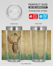 And Into The Forest I Go To Lose My Mind 20oz Tumbler aos-20oz-tumbler-lifestyle-front-60