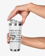 Boss Like You Is Harder to find without name 20oz Tumbler aos-20oz-tumbler-lifestyle-front-31