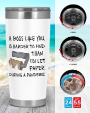 Boss Like You Is Harder to find without name 20oz Tumbler aos-20oz-tumbler-lifestyle-front-44