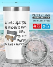Boss Like You Is Harder to find without name 20oz Tumbler aos-20oz-tumbler-lifestyle-front-47