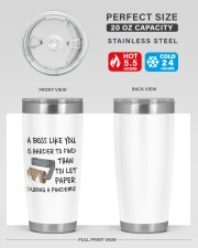 Boss Like You Is Harder to find without name 20oz Tumbler aos-20oz-tumbler-lifestyle-front-60