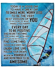 "Today Is A Good Day Have Great Day Sailing Fleece Blanket - 50"" x 60"" front"