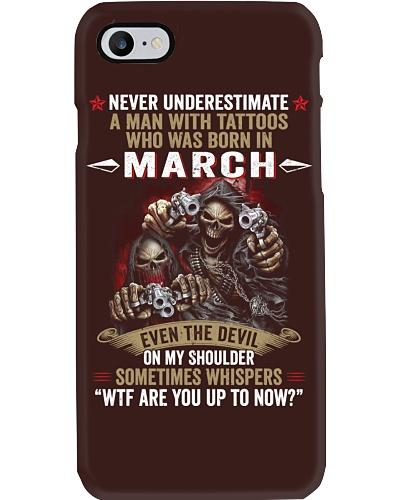 tattoo Man born in March