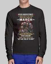 tattoo Man born in March Long Sleeve Tee lifestyle-unisex-longsleeve-front-1