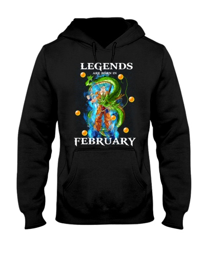 Dragon goku Legends are born in February