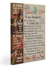 Never Forget That I Love U Mom To Daughter Gallery Wrapped Canvas Prints tile