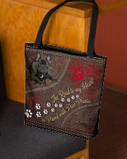The Road To My Heart Is Paved With Paw French Bull All-over Tote aos-all-over-tote-lifestyle-front-02