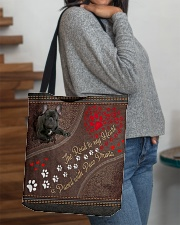 The Road To My Heart Is Paved With Paw French Bull All-over Tote aos-all-over-tote-lifestyle-front-09