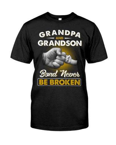 Grandpa And Grandson Bond Never Be Broken