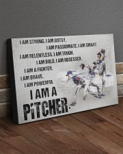I'm Strong Gutsy Passionate Smart Baseball 30x20 Gallery Wrapped Canvas Prints aos-canvas-pgw-30x20-lifestyle-front-10