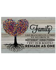 Heart Tree Family Like Branches On A Tree 17x11 Poster front