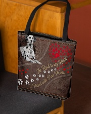 Dalmatian-dog-the-road-to-my-heart All-over Tote aos-all-over-tote-lifestyle-front-02