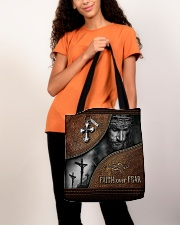 Faith Over Fear All-over Tote aos-all-over-tote-lifestyle-front-06