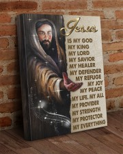 Jesus Is My God My King My Lord 16x20 Gallery Wrapped Canvas Prints aos-canvas-pgw-16x20-lifestyle-front-09