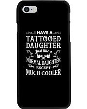 TATTOOED DAUGHTER Phone Case tile