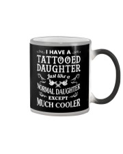 TATTOOED DAUGHTER Color Changing Mug tile