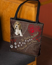 Beagle-dog-the-road-to-my-heart All-over Tote aos-all-over-tote-lifestyle-front-02