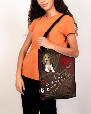 Beagle-dog-the-road-to-my-heart All-over Tote aos-all-over-tote-lifestyle-front-07