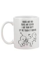 Butt let me touch it forever Funny Mug back