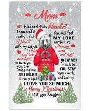 I Hugged This Blanket Xmas Daughter To Mom Vertical Poster tile