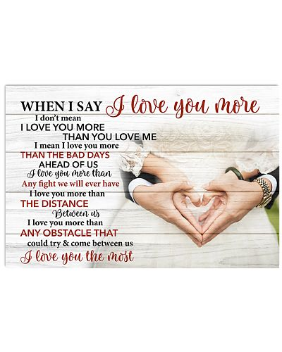 I Love You The Most - For Husband