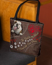 Bulldog-dog-the-road-to-my-heart All-over Tote aos-all-over-tote-lifestyle-front-02