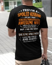 Spoiled Husband Of A Freaking Awesome Wife Classic T-Shirt apparel-classic-tshirt-lifestyle-back-115