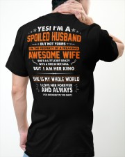 Spoiled Husband Of A Freaking Awesome Wife Classic T-Shirt apparel-classic-tshirt-lifestyle-back-64