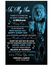 Today Is A Good Day Have Great Day Lion Dad To Son Vertical Poster tile
