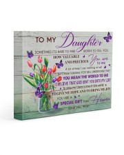 U Are Special Gift From Heaven Mom To Daughter 14x11 Gallery Wrapped Canvas Prints front