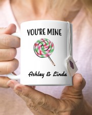 Personalized Name I Licked You So Now You're Mine Mug ceramic-mug-lifestyle-68